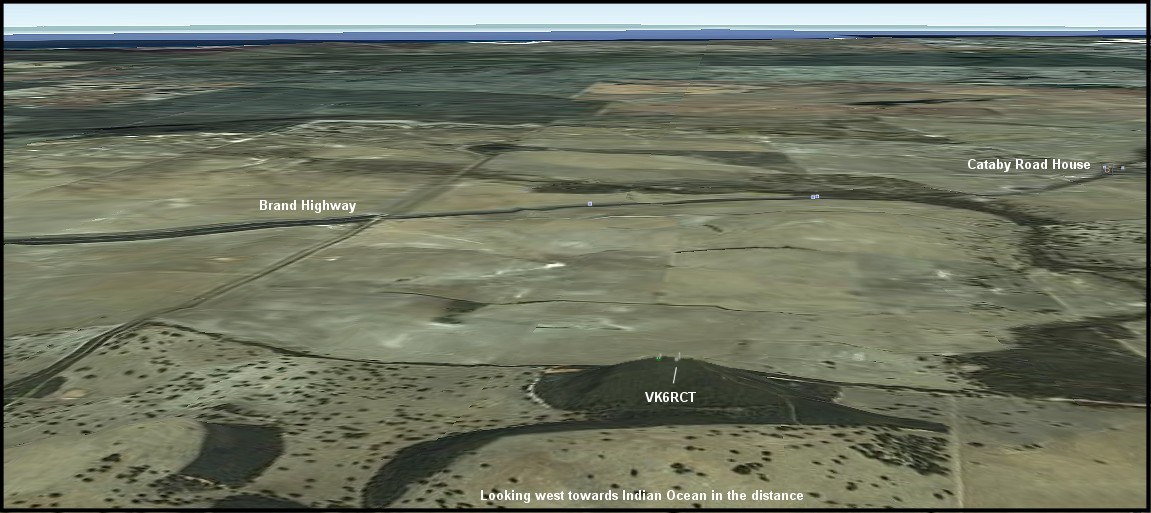 Aerial view of Cataby site